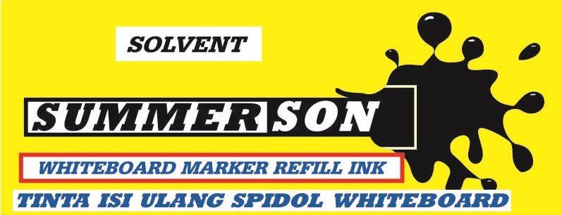 Tinta spidol Whiteboard refill murah dan berkualitas tinggi Summerson