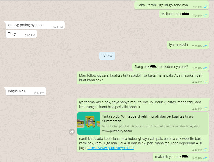Testimoni Customer- Tinta Spidol Summerson 9