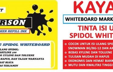 Tinta Spidol whiteboard murah Summerson dan Kayata