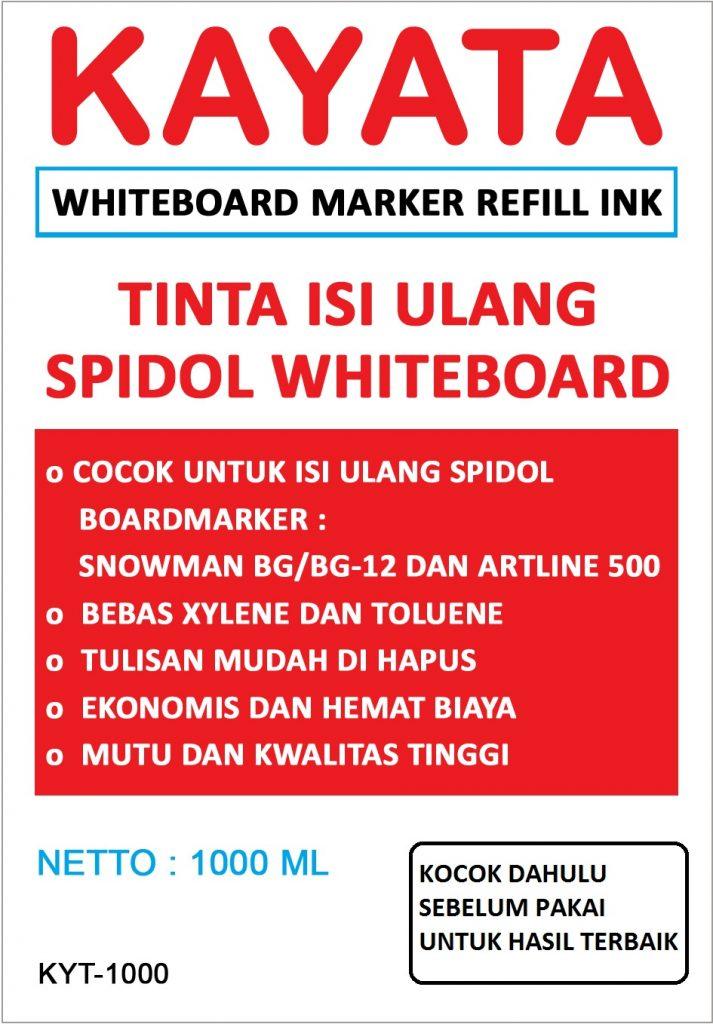 Tinta isi ulang spidol whiteboard Kayata